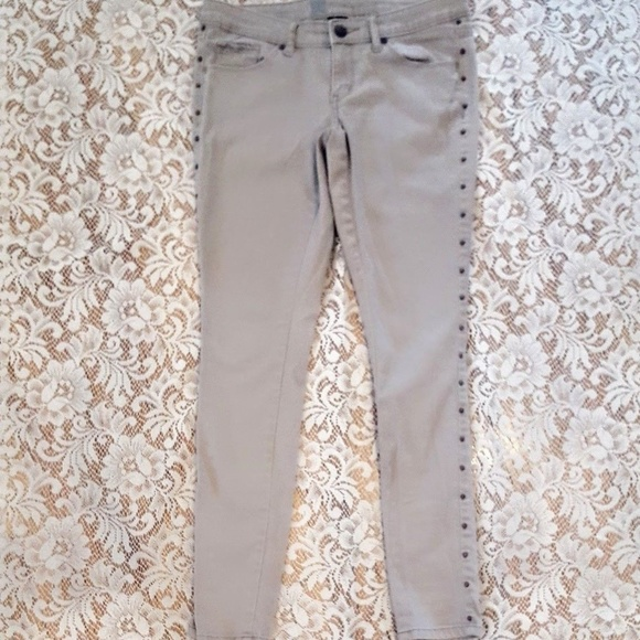 Mossimo Supply Co. Denim - MOSSIMO Jeans, Tan Studded Skinny Slim Fitted, 2